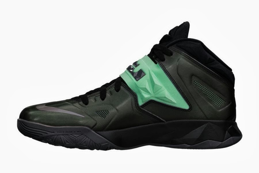 6768129f0912 ... promo code for new lebron nike zoom soldier vii green glow 8211  available now e0b8f b7cec