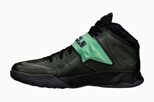 New LeBron Nike Zoom Soldier VII Green Glow 8211 Available Now