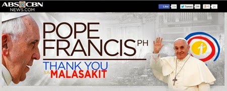 ABS-CBN's Pope Francis Thank You Sa Malasakit Campaign
