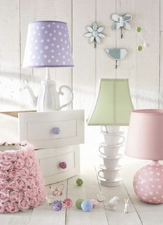 Pottery Barn' lamps