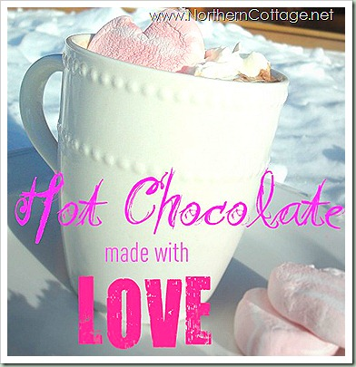 northern cottage hot chocolate love