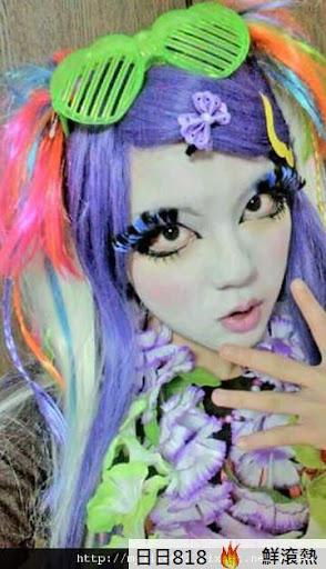 日本新人種 白臉辣妹4