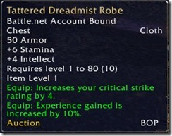 Heirloom Tooltip