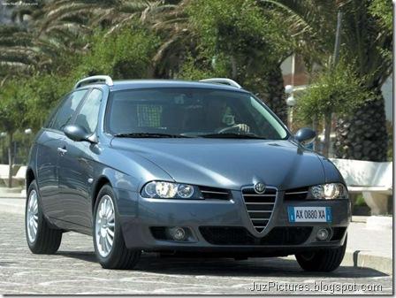 Alfa Romeo 156 Sportwagon 2.0 JTD (2003)6