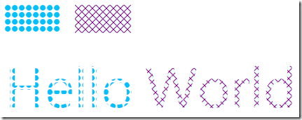 WPF Patterned &amp; Hatched Brushes
