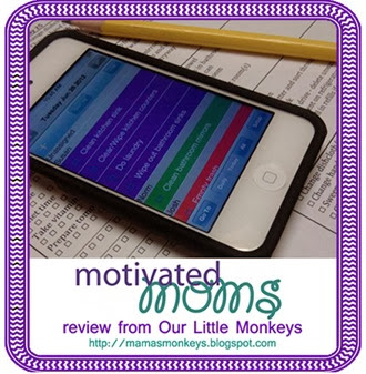 motivated moms, review, chore planner