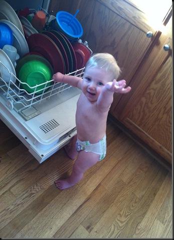standing at dishwasher 1-2013