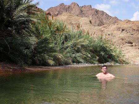 Imagini Hatta: Baie in rau in desert