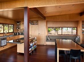 diseño interior casa de madera