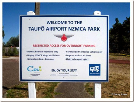 NZMCA Park Taupo Airport