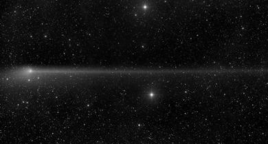 anticauda do cometa PanSTARRS em 23/05