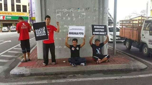 7 000 penyokong anwaribrahim 39 flashmob 39 di kota bharu for J bathroom kota bharu