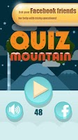 Screenshot of Quiz Mountain