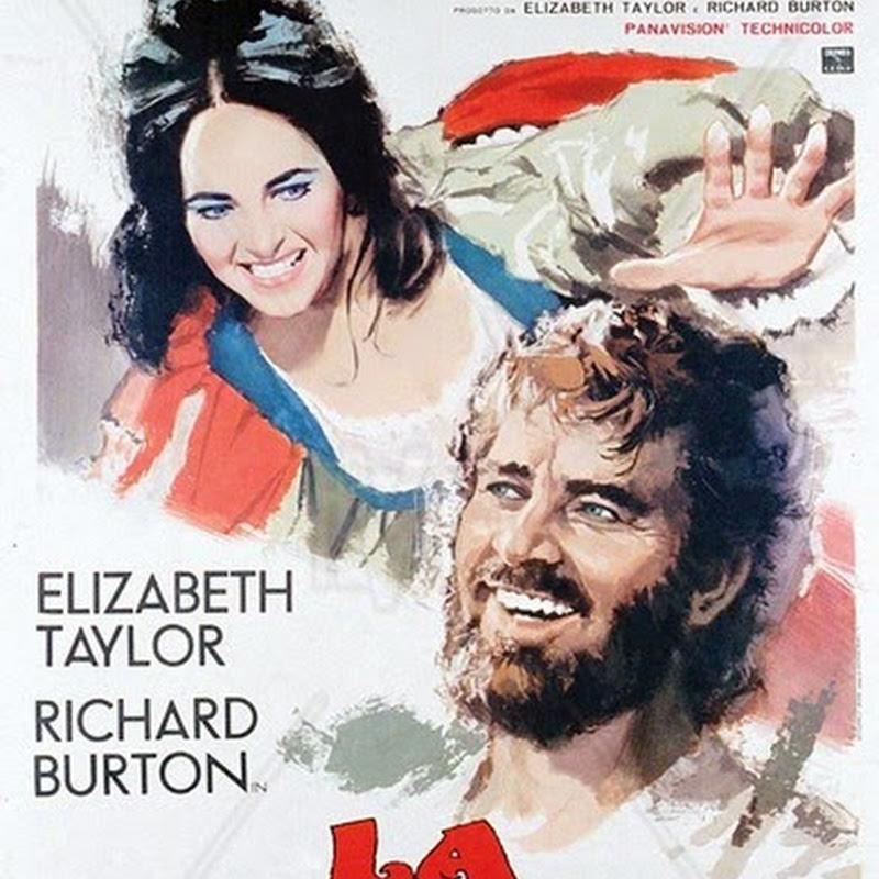 La bisbetica domata, film interpretato dalla coppia d'oro dell'epoca formata da Elizabeth Taylor e Richard Burton.