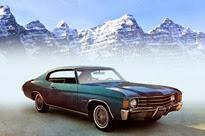 1972-Chevrolet Chevelle Malibu Sport Coupe
