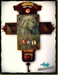 andy skinner forbidden mixed media altered art