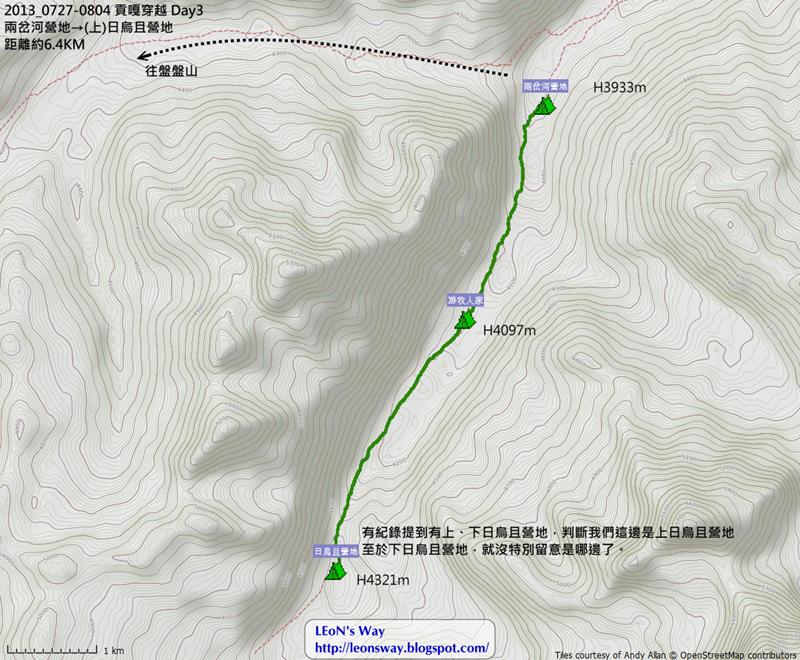 D3航跡圖