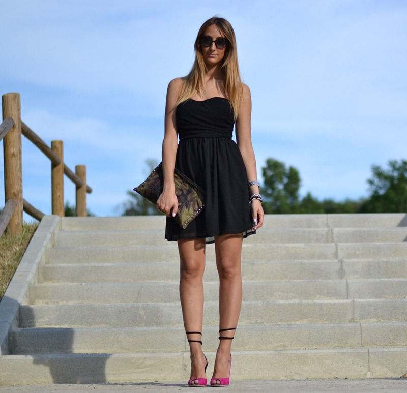 Tally Weijl Dress, Sergio Rossi Sandals, Sergio Rossi Shoes, Prada Bag