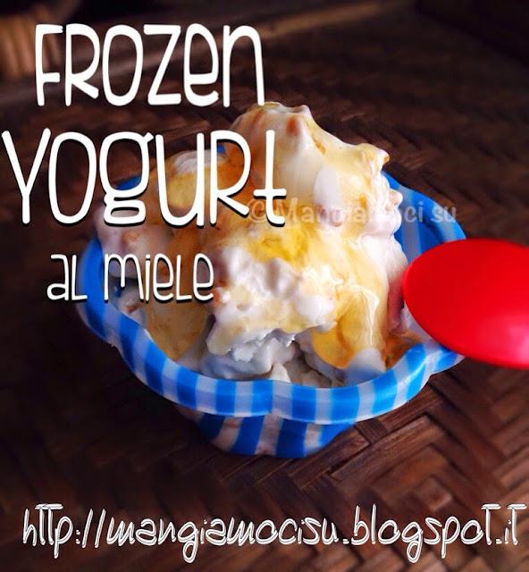 frozen yogurt al miele
