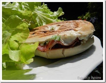 bagels tomate pancetta philadelphia cuits
