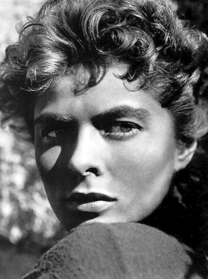 Ingrid Bergman in For Whom The Bell Tolls (Sam Wood, 1943)