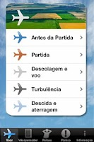 Screenshot of Medo de Voar App