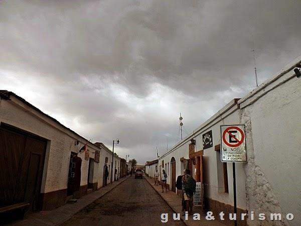 Chuva em San Pedro