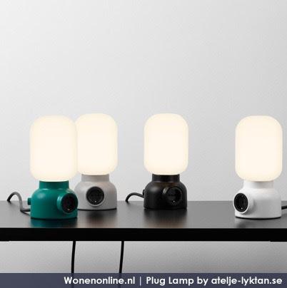 Wonenonline plug lamp for Nachtkast lamp