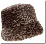 Faux Fur Leopard hat