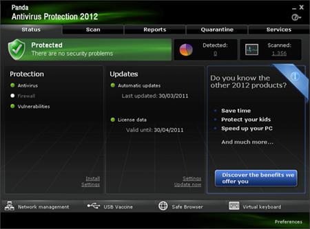 Gratis Lisensi 6 Bulan Panda Antivirus Pro 2012