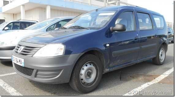 Frankrijk met de Dacia Logan MCV 03