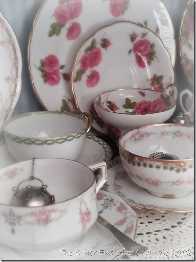 Favorite Teacups and Saucers