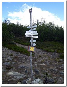 ...och du kommer till Abisko Östra nästan åt vilket håll du än går.