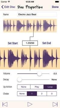 Scratch Disc スクラッチング DJ アプリ