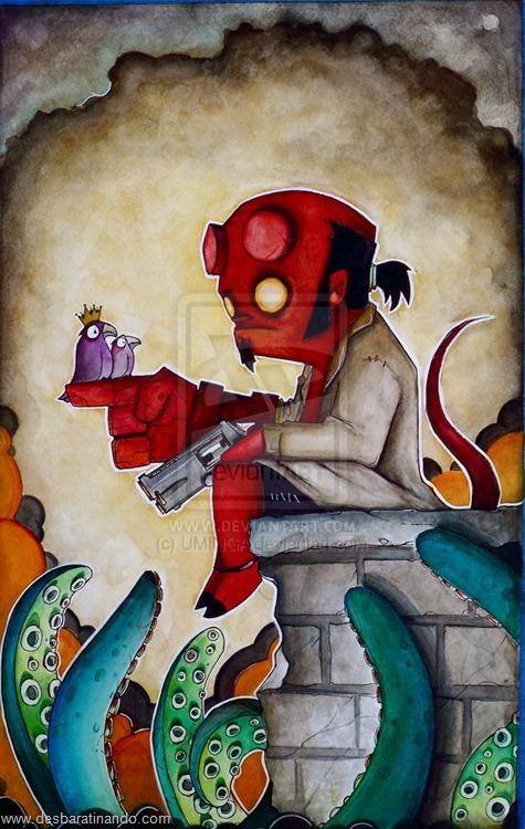 hellboy desenhos arte uminga herois desbaratinando.jpg