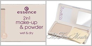 2 in 1 Make-up & powder - 20 natural nude fertig
