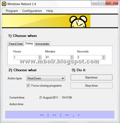 windows reboot mboir