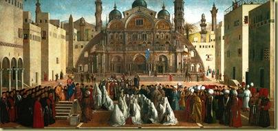 Bellini Predica di san Marco