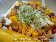 fruit and nut salad, by 240baon
