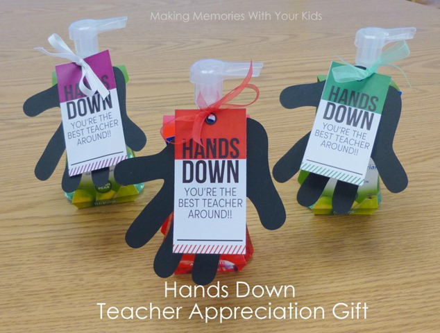 hands down teacher gift