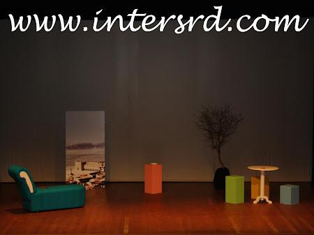Um palco a pedir os artistas