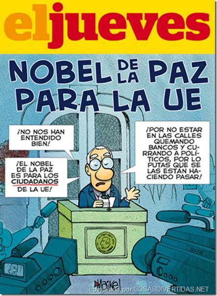 Nobel Paz El Jueves