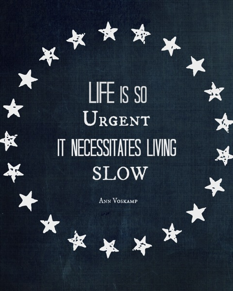Life is Urgent