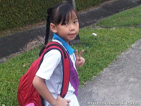 Nicole school morning