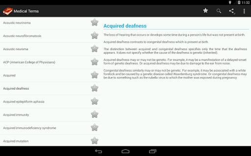 Medical Terminologies - screenshot