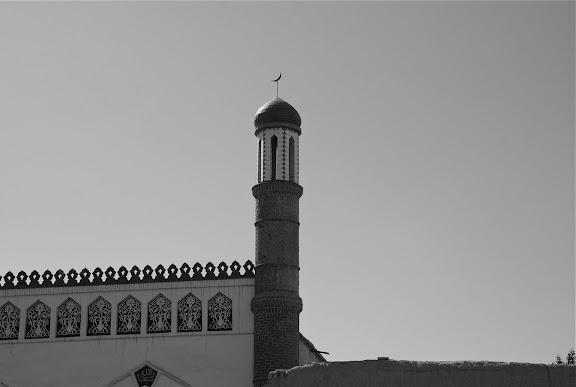 Hami - Detail mosquee tombeau des rois hui