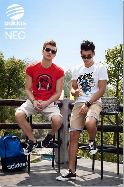 Eddie Peng 彭于晏 X adidas NEO Label 2013 01