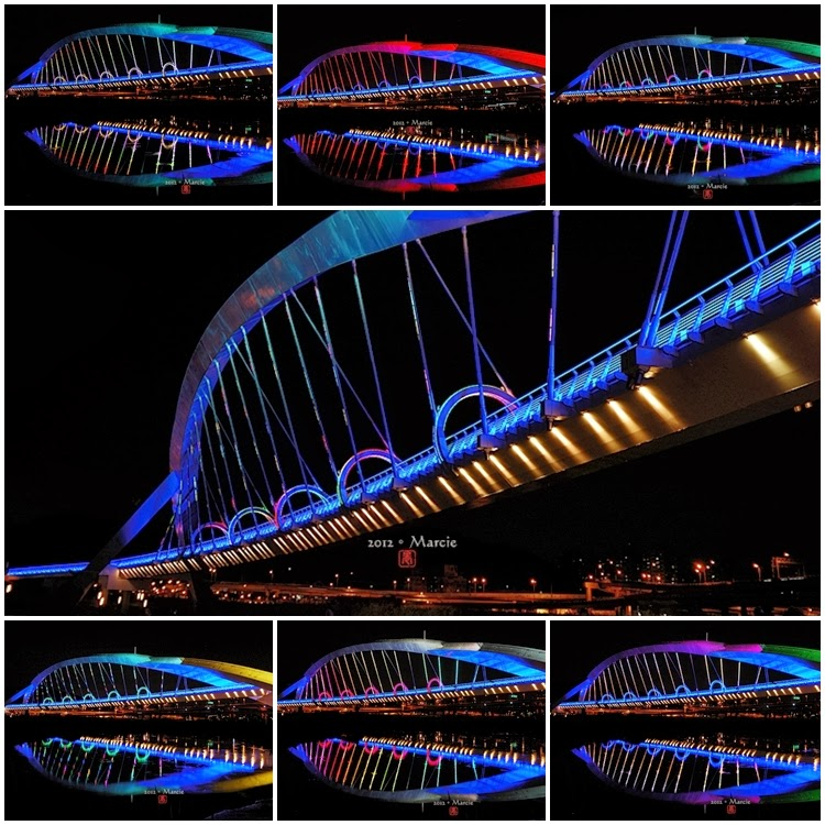陽光橋 夜景