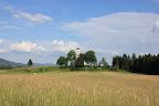 The church in Zelše near cerknica.