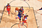lebron james nba 130217 all star houston 75 game 2013 NBA All Star: LeBron Sets 3 pointer Mark, but West Wins
